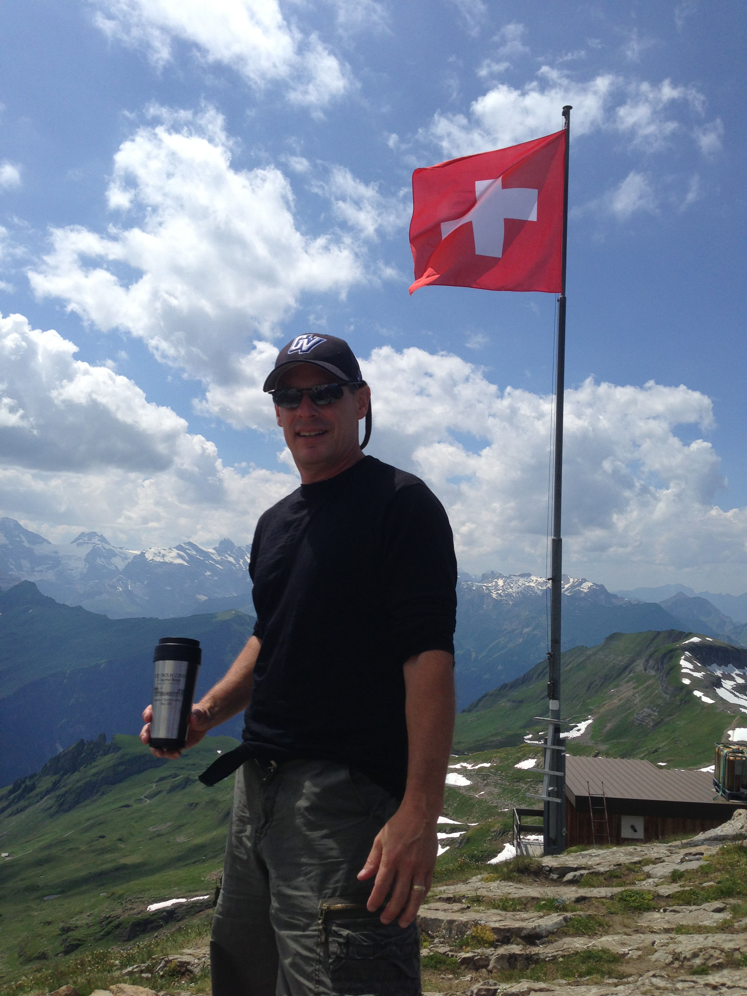 Joe D in Switzerland