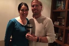 Chris and Maria in Bogota
