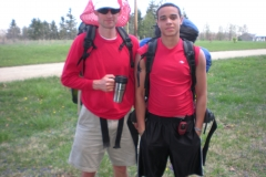 Coshocton Co - Knox Co border Nate & Nate jr