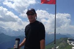 Joe D in Switzerland