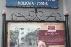 Veronica at the Mother House Kolkata India